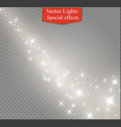 glow light effect christmas vector image vector image