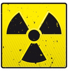 nuclear power symbol vector image vector image