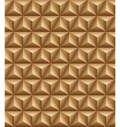 Tripartite pyramid brown seamless texture vector