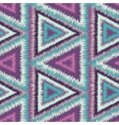 Seamless pattern tribal vector