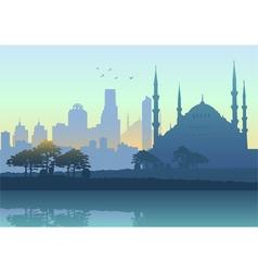 Istanbul cityscape vector