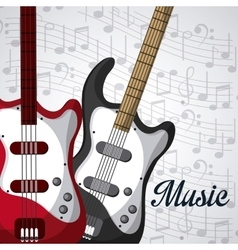Music instrument design vector