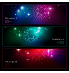 Background party set vector