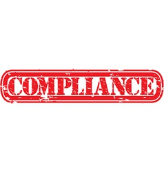 Compliance stamp vector