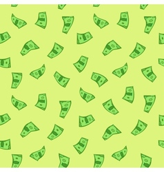 Dollars seamless vector image