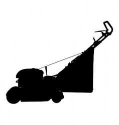 lawn mower vector image vector image