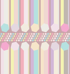 Seamless pastel abstract pattern vector