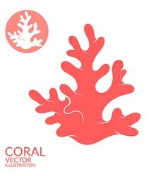 Coral vector image vector image