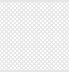 Tile white and grey pattern or background with dot vector