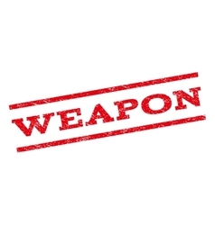 Weapon watermark stamp vector