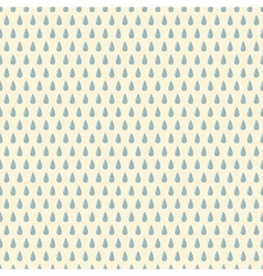 Seamless pattern with rain drops vector