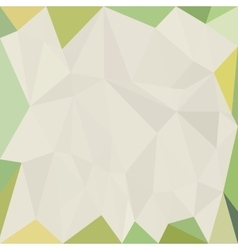 Abstract colorful white background with triangles vector image vector image