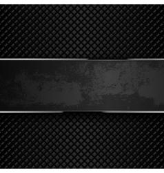 Dark grunge metal backgrounds vector image vector image