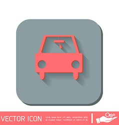 Icon car vehicles icon of transport vector
