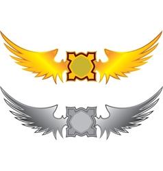 wings vector image