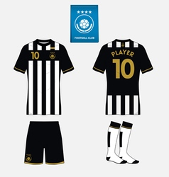 Football kit template for your sport club vector