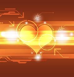 Cardiograph technology concept vector