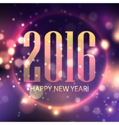 Happy New 2016 Year vector image