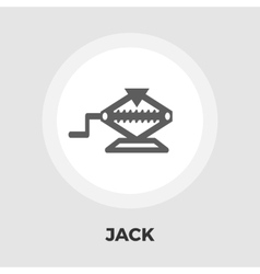Jack flat icon vector image vector image