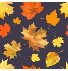 Leaf fall vector