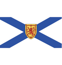 Nova scotia flag vector