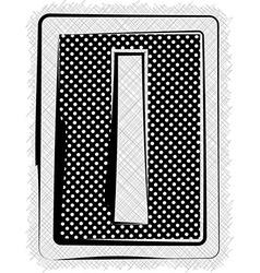 Polka Dot Font LETTER l vector image vector image