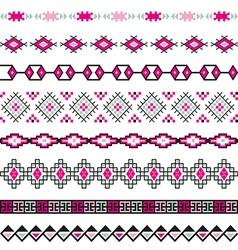 Seamless pattern tribal design Ethnic vector image vector image