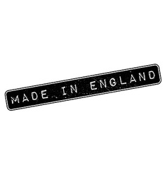 Made in england rubber stamp vector
