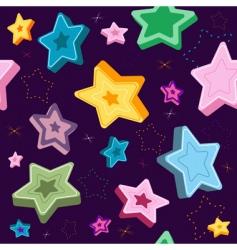 violet pattern vector image