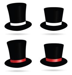 hat cylinder vector image