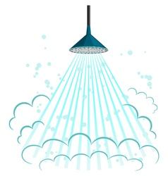 shower vector image