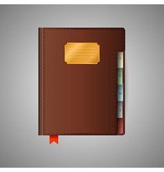 Notebook vector