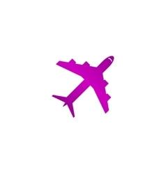 Plane icon Flat design style vector image vector image