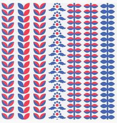 scandinavian style elements vector image