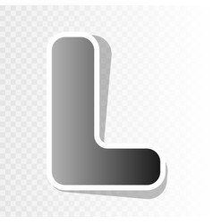 Letter l sign design template element  new vector
