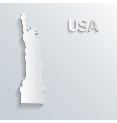Landmark paper symbol vector image