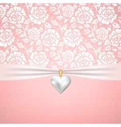 wedding or StValentines day vector image