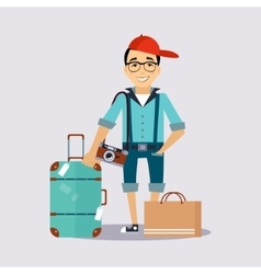 Travelling insurance vector