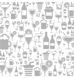 Alcohol a background vector image vector image