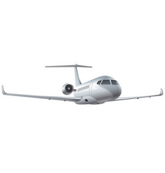flying air jet vector image vector image