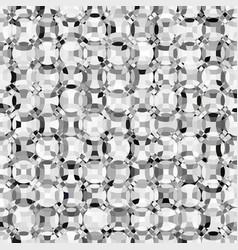 mosaic grayscale circles vector image vector image