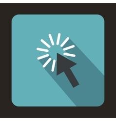 Move cursor icon flat style vector image vector image