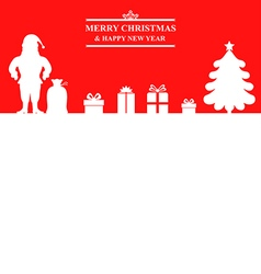 Santa baner vector