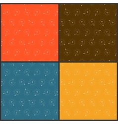 Set from color seamless backgrounds vector image