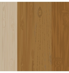 Set of different wooden boards with knots wooden vector