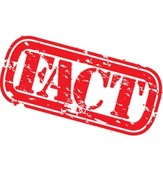 Fact stamp vector image