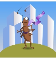 Super ant childrens vector