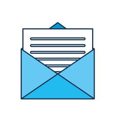 Email envelope letter message communication vector