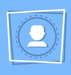 Profile icon user member avatar vector
