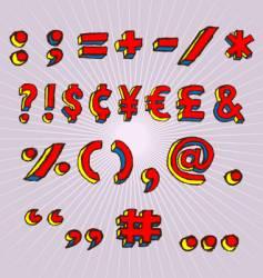 Symbols vector